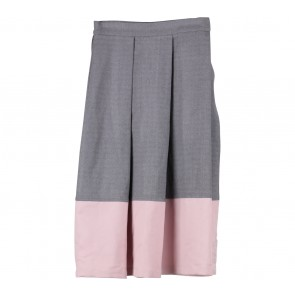 Picnic Grey And Pink Skirt