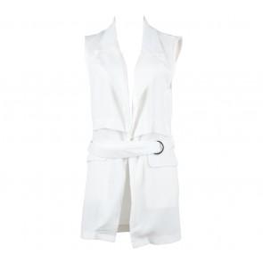 Cocoon White Vest