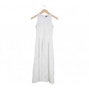 FYN White Midi Dress