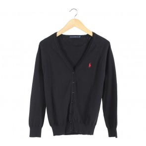 Polo Black Cardigan