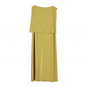 Kenzo Yellow Tube Midi Dress