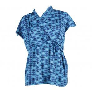 P.S Blue Wrap Blouse