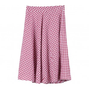 Cotton Ink Multi Colour Plaid Skirt