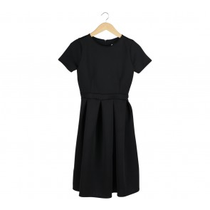 Asos Black Midi Dress