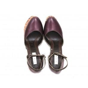 Biyan Purple Wedges
