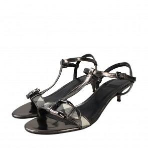 Burberry Black Sandals