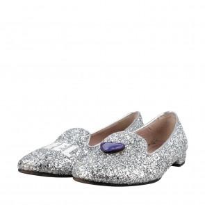 Chiara Ferragni Silver Heels