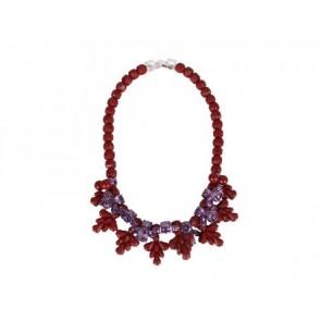 EK Thongprasert Maroon Jewellery
