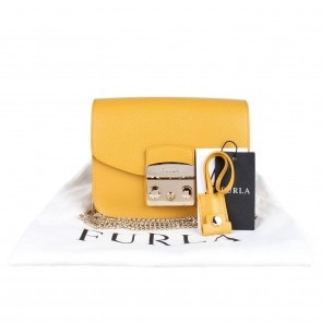 Furla Metropolis Mini Ambra Crossbody Bag