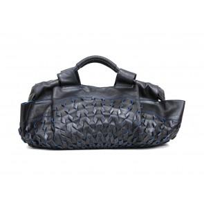 Loewe Black Loewe Woven Shoulder Bag