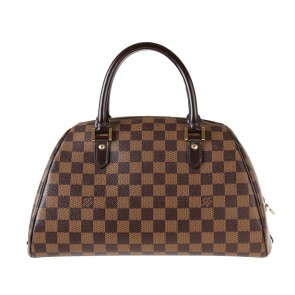 Louis Vuitton Brown Ribera Damier Tote Bag