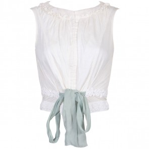 Louis Vuitton Off White Sleeveless