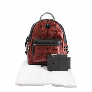 MCM Red Backpack