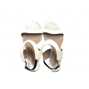 Peter Pilotto X Nicholas Kirkwood White Sandals