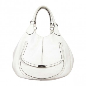 Tod´s White Shoulder Bag