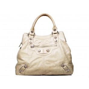 Balenciaga Beige Shoulder Bag