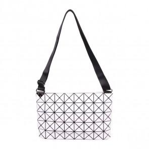 Bao Bao Issey Miyake White Prism Sling Bag