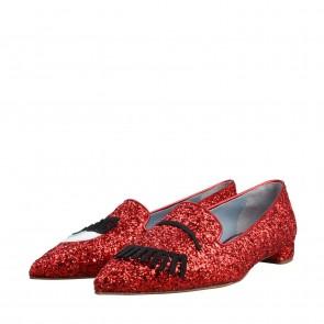 Chiara Ferragni Red Flats