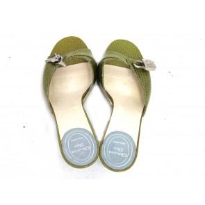 Christian Dior Green Sandals