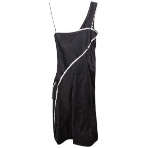 Donna Karan Black Midi Dress