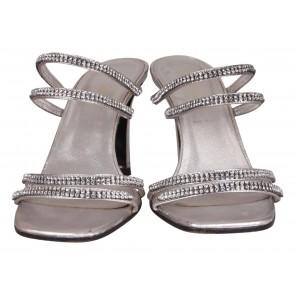 Escada Silver Sandals