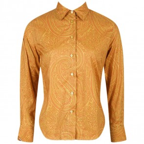 Etro Profumi Orange Shirt