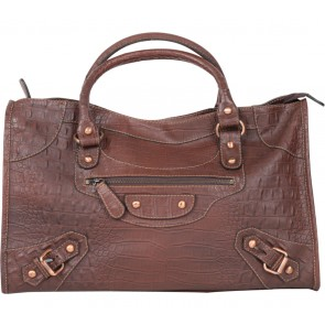 Franciscon Franco Brown Handbag
