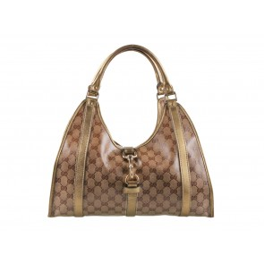Gucci Brown Jackie O Tote Bag