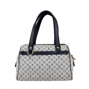 Louis Vuitton Cream Mini Lin Monogram Canvas Josephine PM Tote Bag