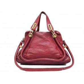 Chloe Red Medium Paraty Sling Bag
