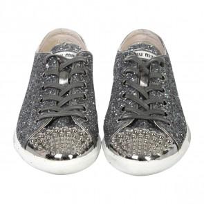 Miu Miu Grey Sneakers