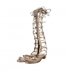 Stuart Weitzman Gold Boots