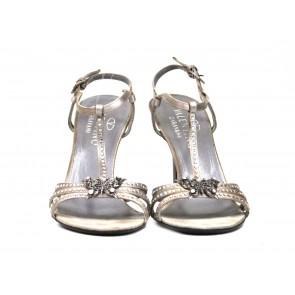 Valentino Silver Sandals