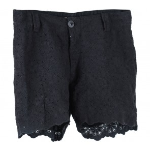 Black Lace Shorts Pants