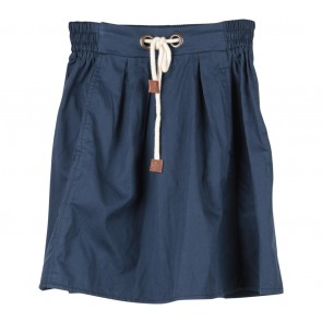 Zara Dark Blue Tied Skirt
