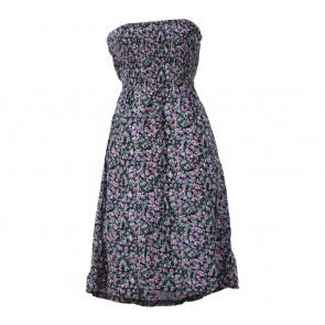 Multi Colour Floral Sleeveless Mini Dress