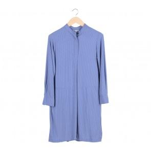 UNIQLO Blue Midi Dress