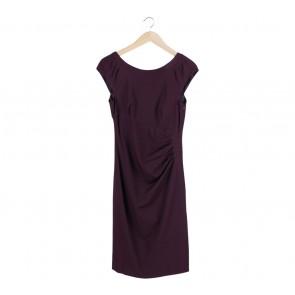 Coast Purple Midi Dress