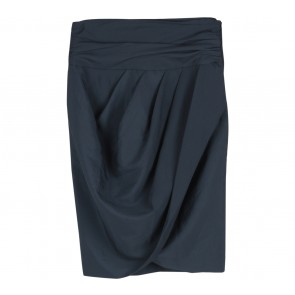 Zara Dark Blue Layered Skirt