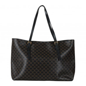Celine Black Macadam Tote Bag