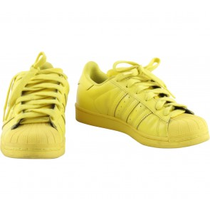 Adidas Yellow Superstar Sneakers