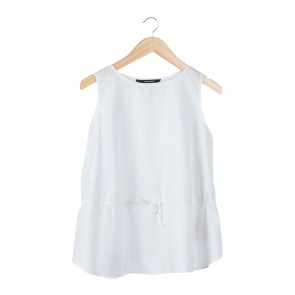 Shop At Velvet White Sleeveless Blouse