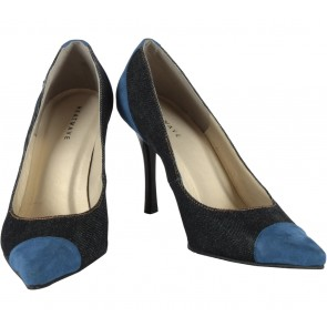 Heatwave Blue And Dark Blue Rawnie Heels