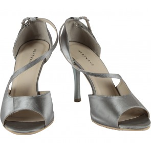 Heatwave Dark Grey Saaqi Heels
