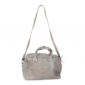Longchamp Grey Satchel