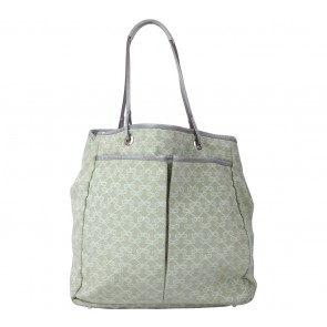 Anya Hindmarch Light Green Ribbon Tote Bag