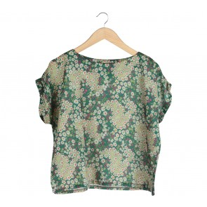 Shop At Velvet Green Floral Loose Blouse
