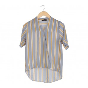 Pee Ka Nong Multi Colour Striped Blouse