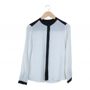 Off White And Black Shirt
