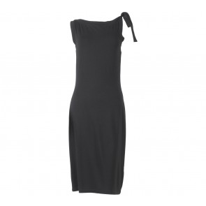 Club Monaco Black Sleeveless Midi Dress